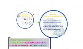 ESTRUCTURA DEL PLAN DE COMUNICACIÓN