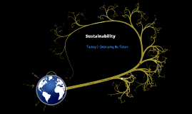 Sustainability: Facing & Embracing the Future