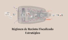Copy of Regimen de Recinto Fiscalizado Estrategico