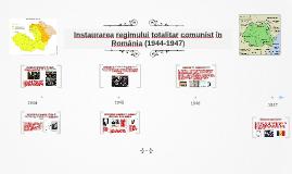 Sovietizarea Romaniei (1948-1958)