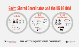 Revit: Shared Coordinates & the UK OS Grid