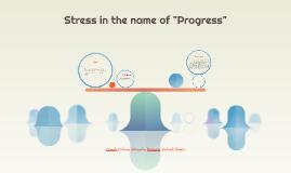 Stress in the U.S