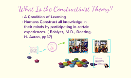 Constructivism Learning Theory: Ways to intergrate technology in the classroom.