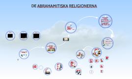 De abrahamitiska religionerna