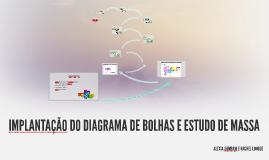 IMPLANTAÇÃO DO DIAGRAMA DE BOLHAS E ESTUDO DE MASSA