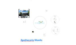 Copy of Copy of Apothecaria Manila