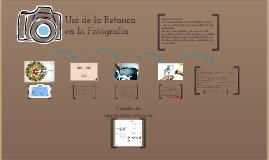 Copy of Uso de la Retorica en la Fotografía