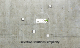 selection.solutions.simplicity
