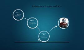 Renaissance Era Alec and Bria