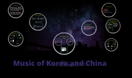 Music of Korea and China