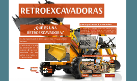 RETROEXCAVADORAS