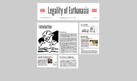 Legality of Euthanasia