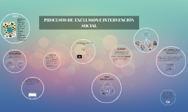 Copy of PROCESOS DE INTEGRACIÓN Y EXCLUSIÓN SOCIAL