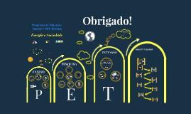 Copy of Apresentação PET