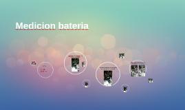 Medicion bateria