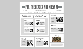 FDR: THE LEADER WHO KNEW ME