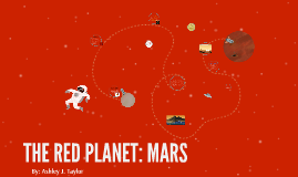 Solar System Project: Mars