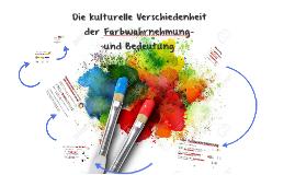 Die Farbwahrnehmung- und Bedeutung