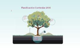 PLANIFICACIÓN PCI  2016