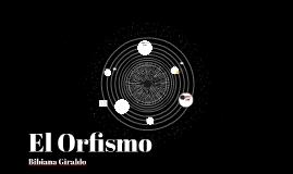 El Orfismo