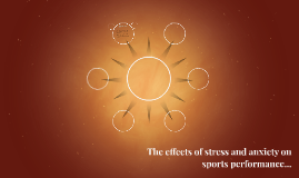 The effects of stress and anxiety on sports performance...