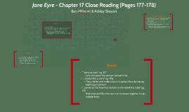 Jane Eyre   Chapter 17 Close Reading