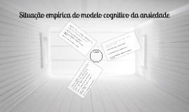 Modelo cognitivo da ansiedade