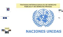 TRATADOS INTERNACIONALES DE DERECHO PUBLICO Y DE DERECHO PRV
