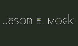 Jason Mock's ePortfolio