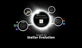 Astrophysics Lesson 4.1 - Stellar Evolution