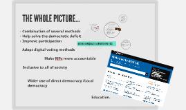 DIGITAL DEMOCRACY: A SMARTER POLITICS