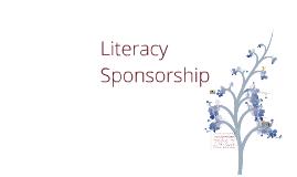 Literacy Sponsorship