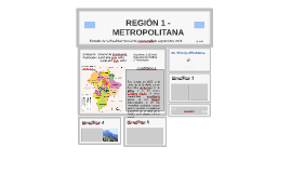 Copy of REGIÓN 1 METROPOLITANA