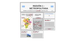 Copy of REGIÓN 1 METROPOLITANA
