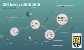 GPS bekijkt 2015-2016