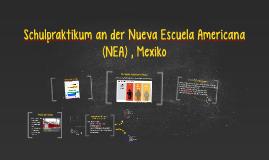 Schulpraktikum an der NEA, Mexiko