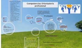 Competencias Orientador/a profesional