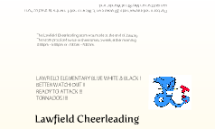 Lawfield Cheerleading