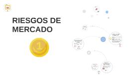 RIESGOS DE MERCADO