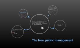 The New public management