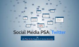 Social Media PSA
