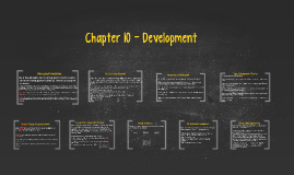 Chapter 10 - Development