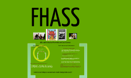 FHASS contributions to undergraduate