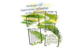 Classroom Management: Supervision of Technology
