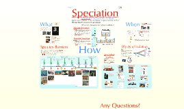 Evolution 5:  Speciation (adapted from David Knuffke)