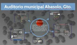 Auditorio municipal Abasolo, Gto.
