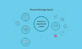 final de psicología social