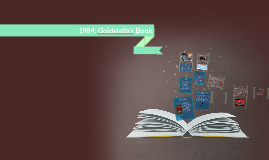 1984: Goldstein's Book