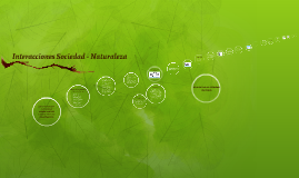 Interacciones Sociedad - Naturaleza