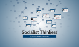 Socialist thinkers